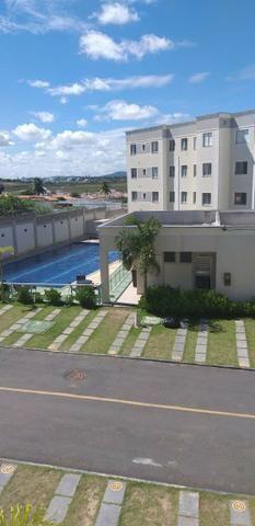 Apartamento 2/4 entrada parcelada em 72 x - 1 ano gratis de condominio - Pronto para Morar - Foto 4