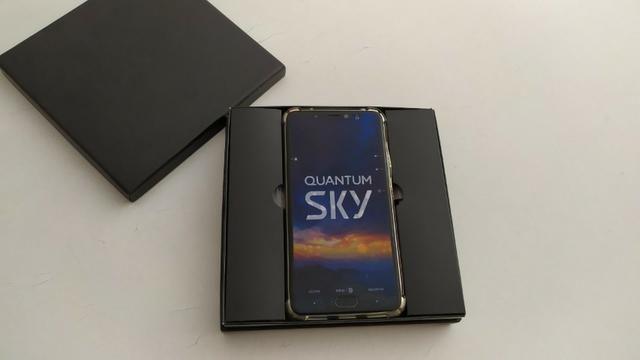 Smartphone Quantum Sky 4g 64 Gb Cinza