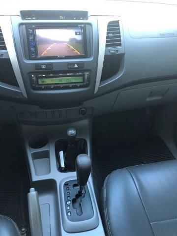 Toyota hilux 2010/2011 3.0 srv 4x4 cd 16v turbo intercooler diesel 4p automático - Foto 11