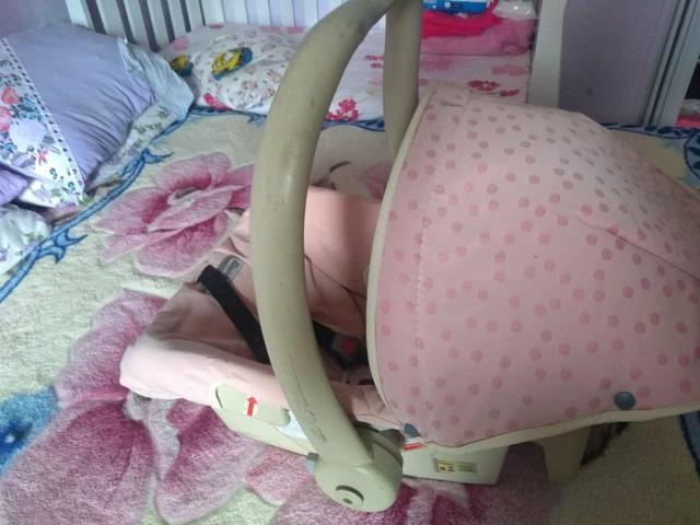 BORIGGOTO ?carrinho e bebê conforto? - Foto 5