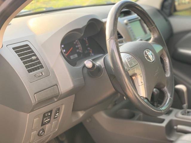 Hilux 12/13 SRV 4x4 diesel 3.0 Automática impecável - Foto 11