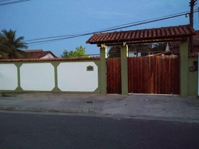 Casa com quintal, espaço gourmet com churrasqueira, piscina, espaço fitness, laguinho, etc - Foto 5