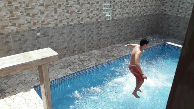 Casa com piscina Litoral Norte Caraguatatuba praia da Mococa