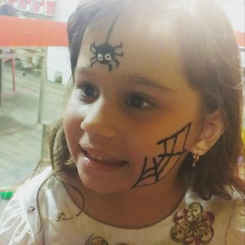 Pintura facial da tia jessica - Foto 3