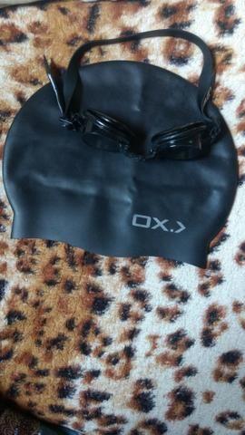 Touca e óculos de natação - Foto 2