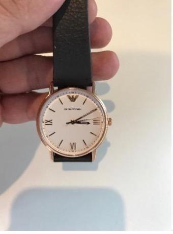 e1cfb8e4393 Relógio Emporio Armani novo - Ar11011 2bn - Bijouterias