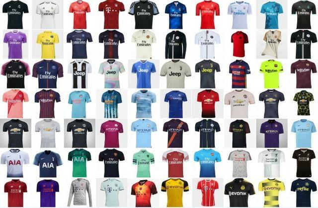 Camisas de times de futebol Originais - Esportes e ginástica - Xaxim ... 5f50c0bb3cd58