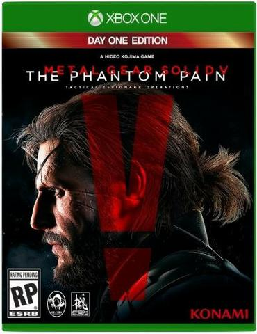 Metal Gear Phanton Pain Day One Edition PT- Xbox One - Mídia Física