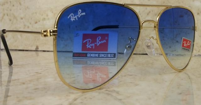 db9d004508480 Óculos Ray Ban Aviador Azul Degradê - Bijouterias, relógios e ...