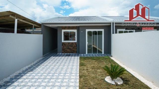Casa à venda com 3 dormitórios em Nações, Fazenda rio grande cod:CA00058 - Foto 3