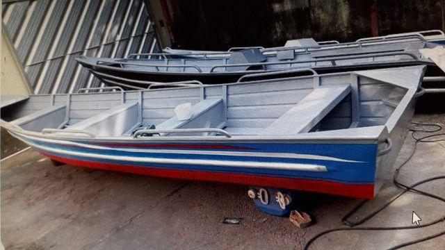 Canoas e botes em aluminio soldado .... - Foto 5