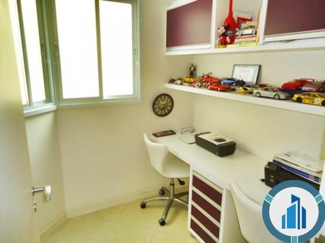 Apartamento para Venda, 03 dormitórios c/ suíte, 2 salas, 2 vagas, 120,87 m² privativos, B - Foto 9