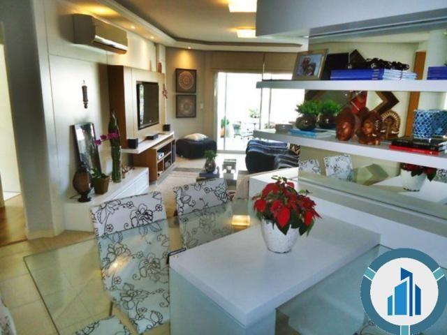 Apartamento para Venda, 03 dormitórios c/ suíte, 2 salas, 2 vagas, 120,87 m² privativos, B - Foto 3