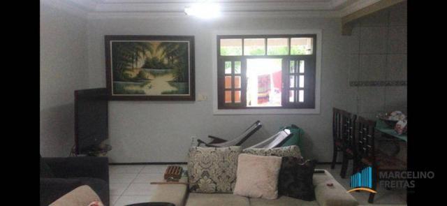 Casa à venda, 210 m² por R$ 550.000,00 - Mangabeira - Eusébio/CE - Foto 6