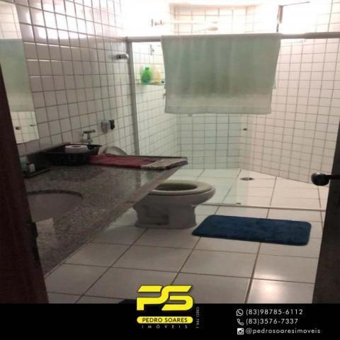 Apartamento com 3 dormitórios à venda, 147 m² por R$ 440.000 - Intermares - Cabedelo/PB - Foto 5
