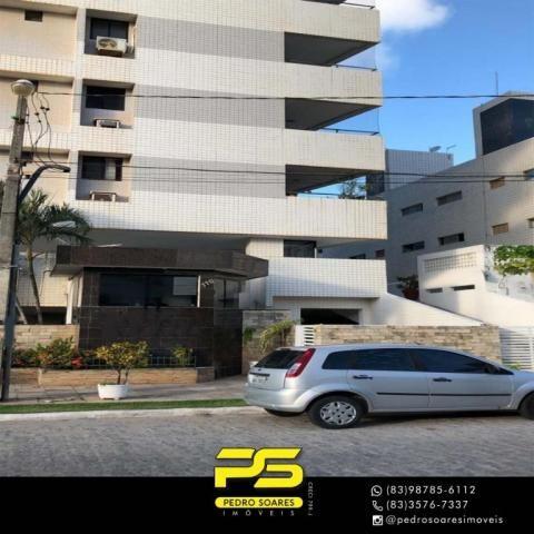 Apartamento com 3 dormitórios à venda, 147 m² por R$ 440.000 - Intermares - Cabedelo/PB