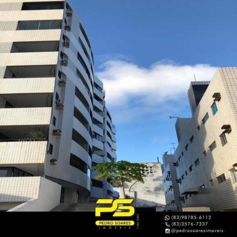 Apartamento com 3 dormitórios à venda, 147 m² por R$ 440.000 - Intermares - Cabedelo/PB - Foto 2