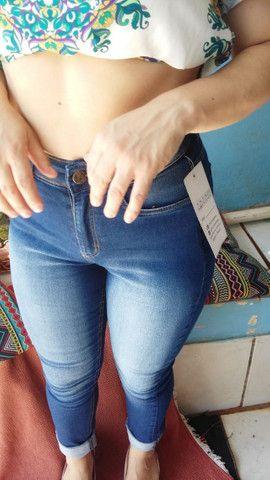 Calça Jeans Chapa barriga