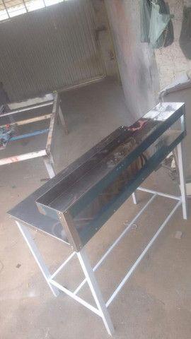 Mesa em aço inox - Foto 3