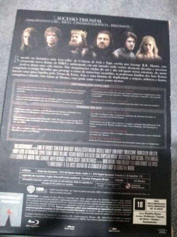 Box Raro - Blu-ray - Game of Thrones (1º Temporada) - Foto 3