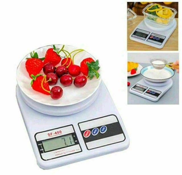 Balança Portátil Digital Cozinha, pesa até 10kg - Foto 2