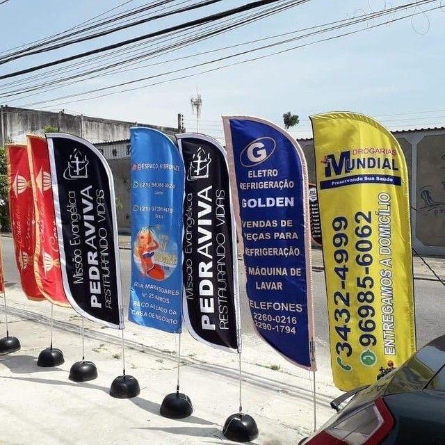 Wind Banner $ 190,00 (sem pegadinha!!!) - Foto 3