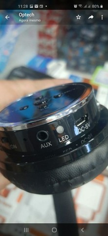 Headfone Sem Fio Altomex A-b05 Fone Bluetooth Micro SD FM MP3 MP4 - Foto 3