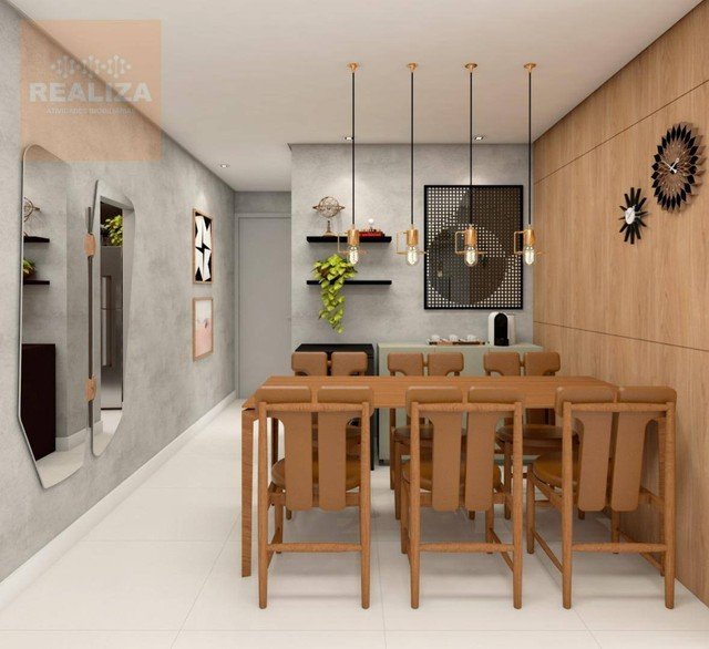 Apartamento com 3 dormitórios à venda, 120 m² por R$ 690.000 - Pedra - Eusébio/CE - Foto 10