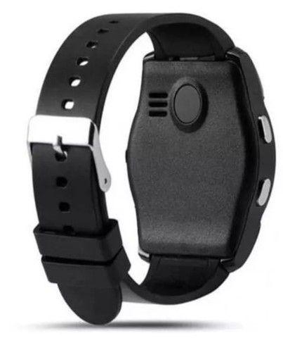 Relógio V8 Black Version Smart Conexão ao Celular - Foto 4