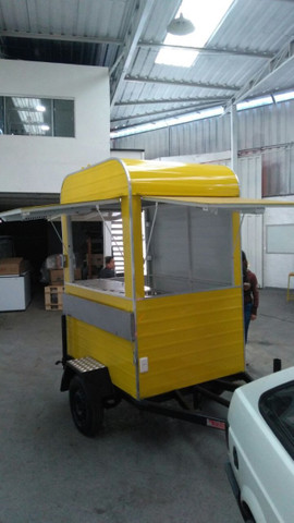 Treilher simples 1,70 para lanches açai sorvete food truck - Foto 4