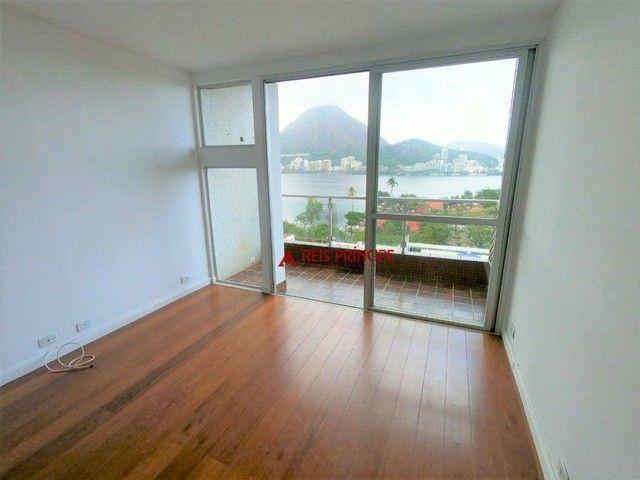 Apartamento com 2 dormitórios para alugar, 84 m² por R$ 5.300,00/mês - Lagoa - Rio de Jane - Foto 4