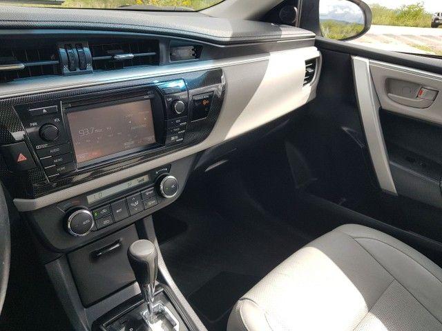 Toyota Corolla 2.0 Aut. Xei 2015 Pneus Novos Ipva 2021 Pago - Foto 15