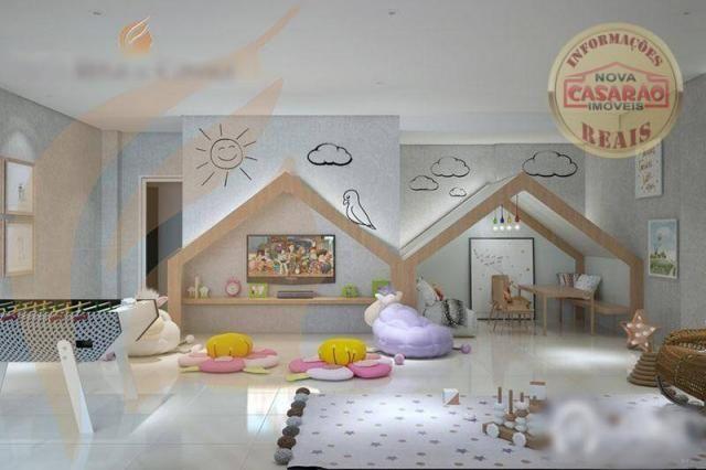 Apartamento com 2 dormitórios à venda, 93 m² por R$ 465.000 - Aviação - Praia Grande/SP - Foto 12