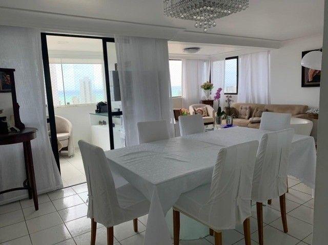 Apartamento em Boa Viagem, lindo, com 3 quartos, 2 vagas e vista mar. - Foto 7
