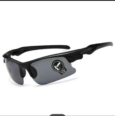 Oculos De Sol Escuro Esportivo Bike Corrida
