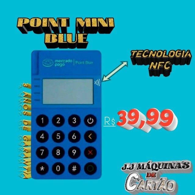 MAQUINA DE CARTÃO POINT BLUE!! PROMOÇÃO - Foto 3
