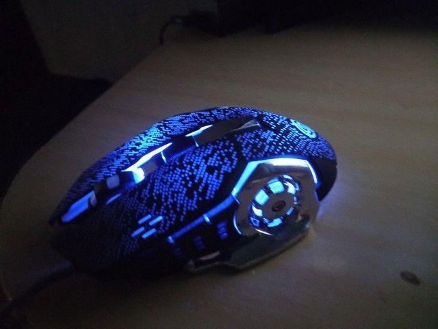 Mouse gamer de 6 botões  - Foto 2