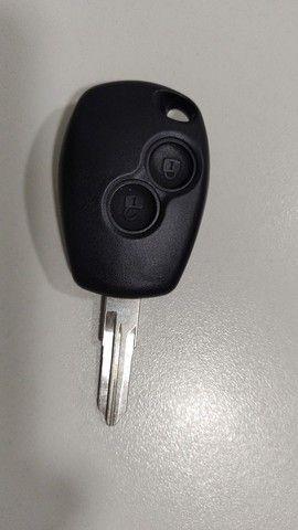 Carcaça da Chave com a Lâmina Original da Renault