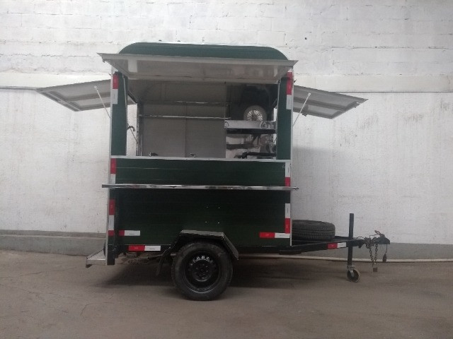 Treilher simples 1,70 para lanches açai sorvete food truck - Foto 9