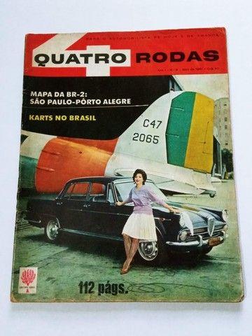 Quatro Rodas Nº9 Abril 1961 - FNM J.K., Candango, Dauphine - Foto 2