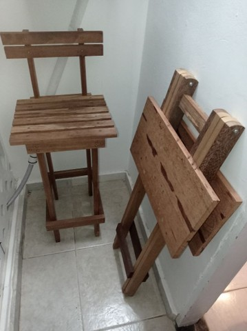 Conjunto mesa e cadeiras  - Foto 3