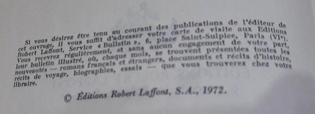 Pio XII Antes da História. Exemplar raro em Francês - Foto 2