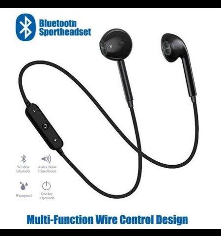 Fone Ouvido Bluetooth  Sport  Corrida com cancelamento de ruído