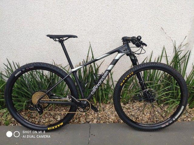 Bike Cannondale Lefty Ocho carbono