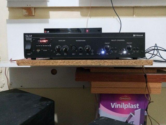 Amplificador Slim 5000 da Frahm