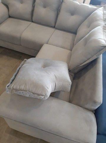 sofa canto 2,00x2,00 metro (novo) - Foto 5