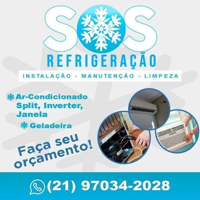 Conserto de Geladeira, Freezer,Ar condicionado e Máquina de lavar.