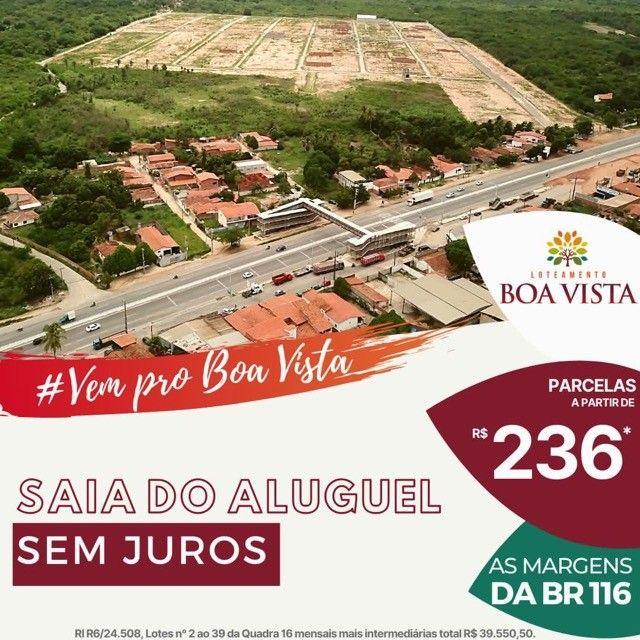 Loteamento Boa Vista, infraestrutura completa e sem burocracia !!