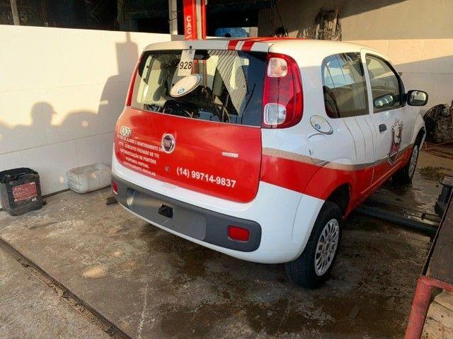 Fiat Uno Vivace 2015 Sucata para retirada de peças - Foto 4