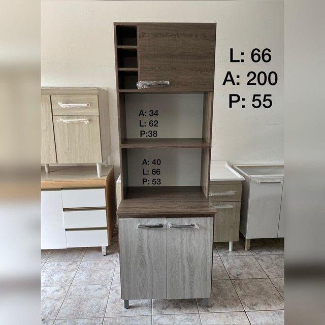 Torre multiuso porta forno e Microondas